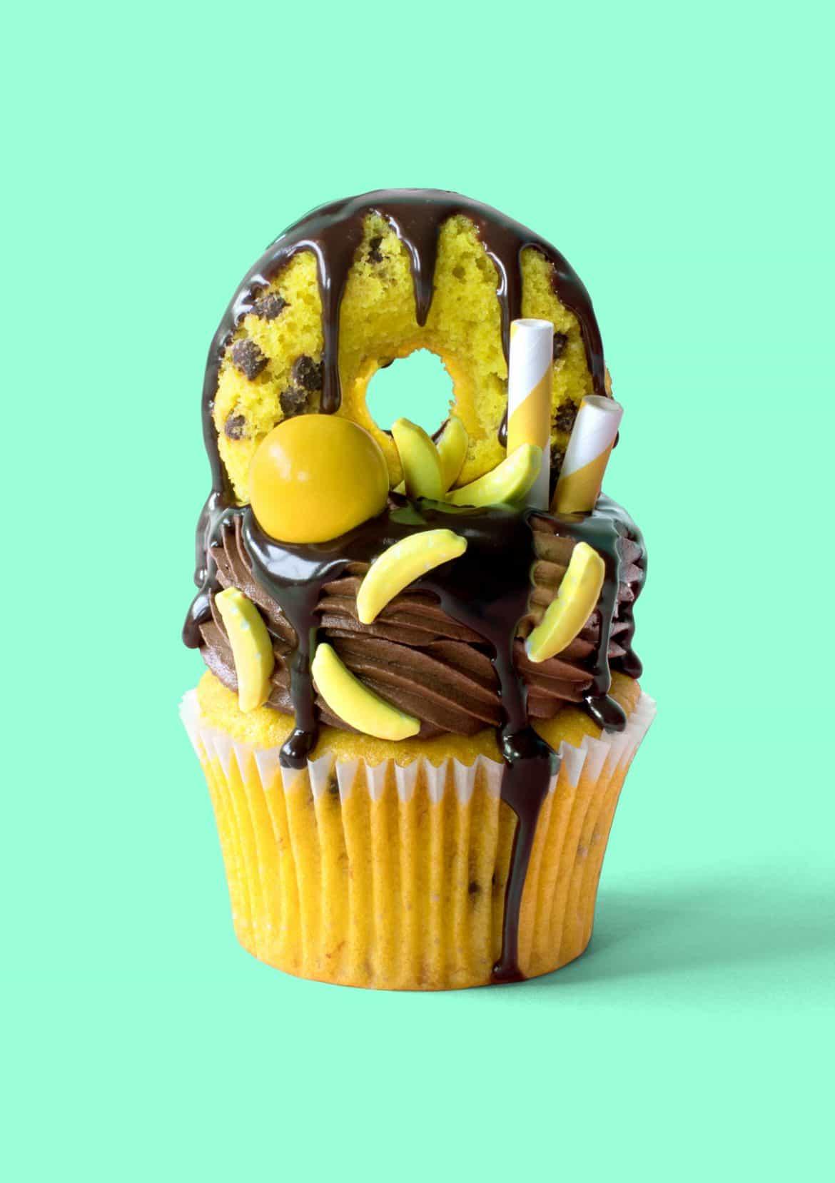 Banana Hammock Cupcakes