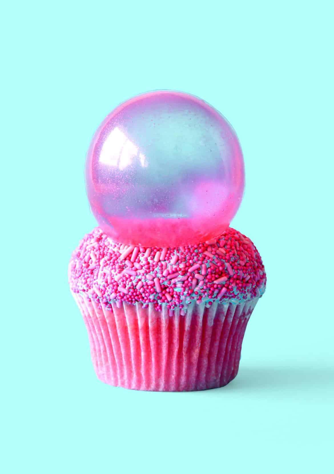 Bubble Pop Electric Cupcakes