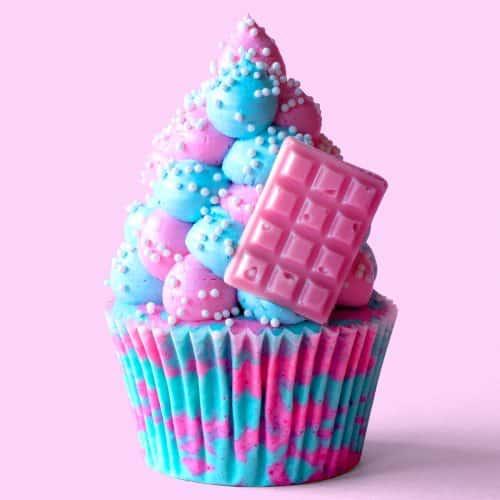 Candy Cloud Cupcakes