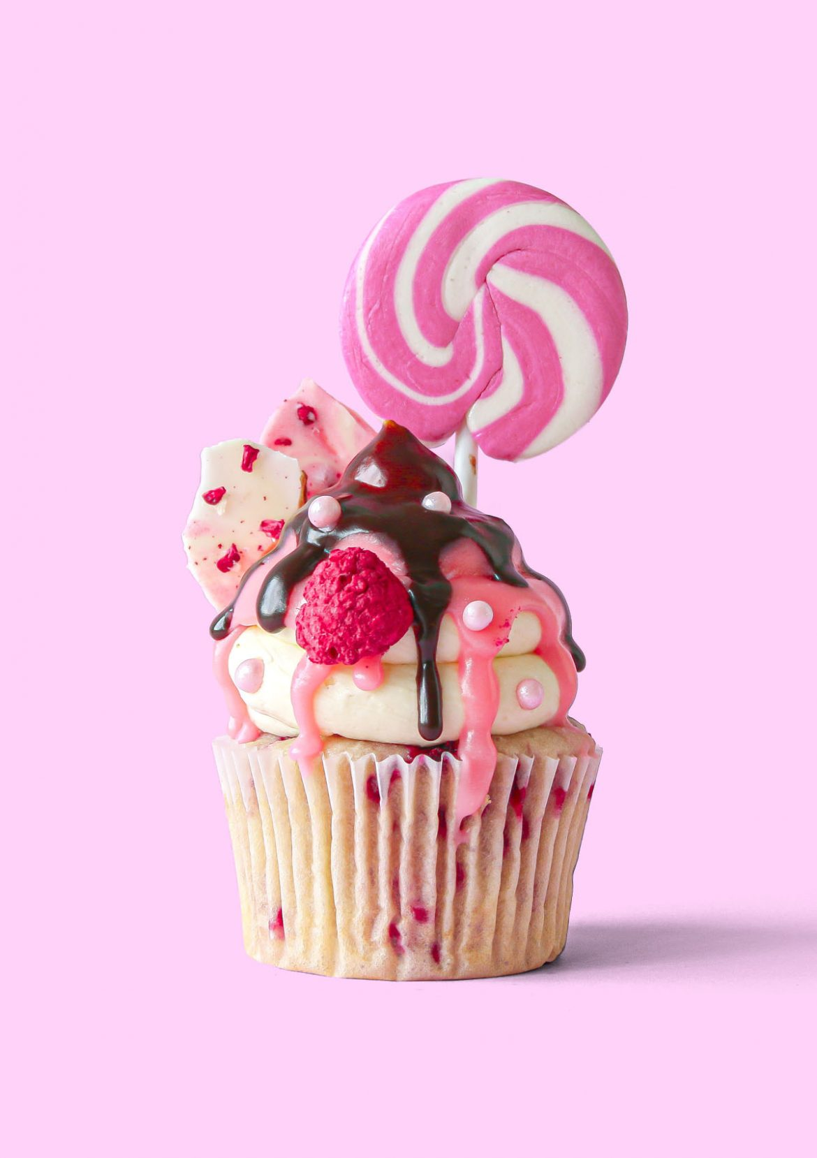 Candy Meadow Cupcakes
