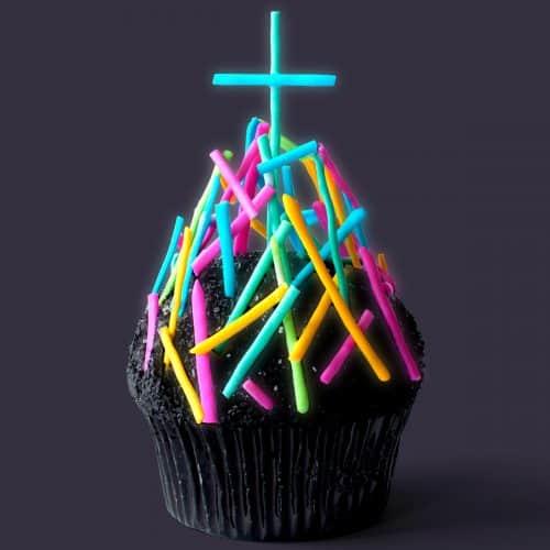 Electric Chapel Cupcakes