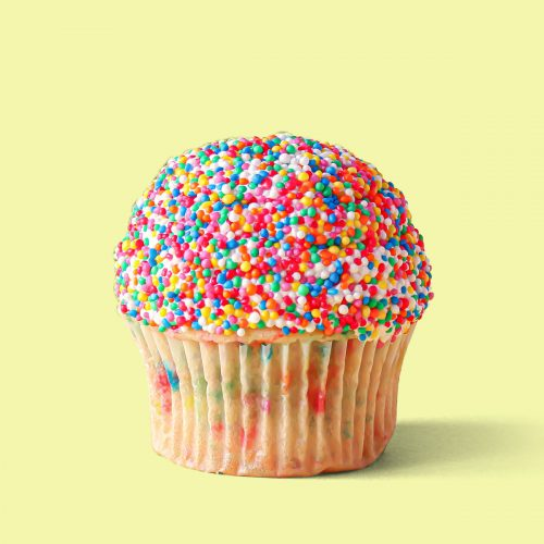 Fairy Bread Cupcakes