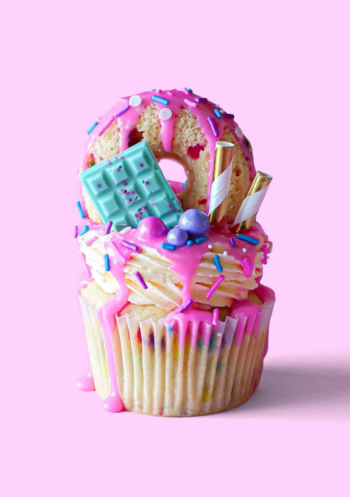 Freakfetti Freakshake Cupcakes