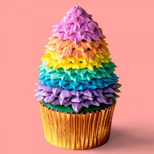 Happy Holigay Cupcakes