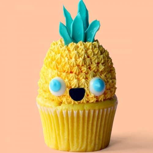 Hawaii Kawaii Cupcakes
