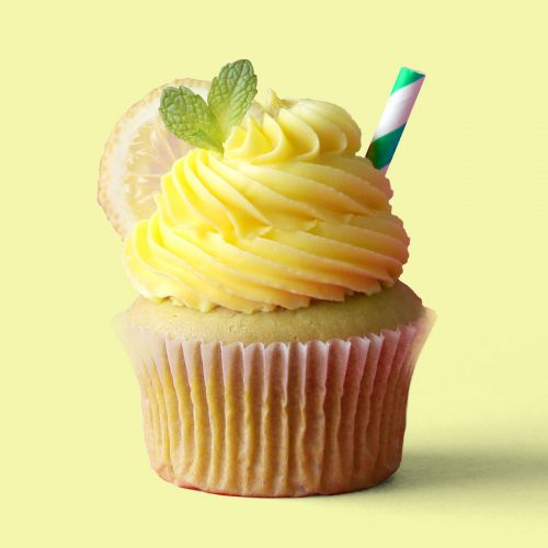 Iced Tea Lemonade Cupcakes