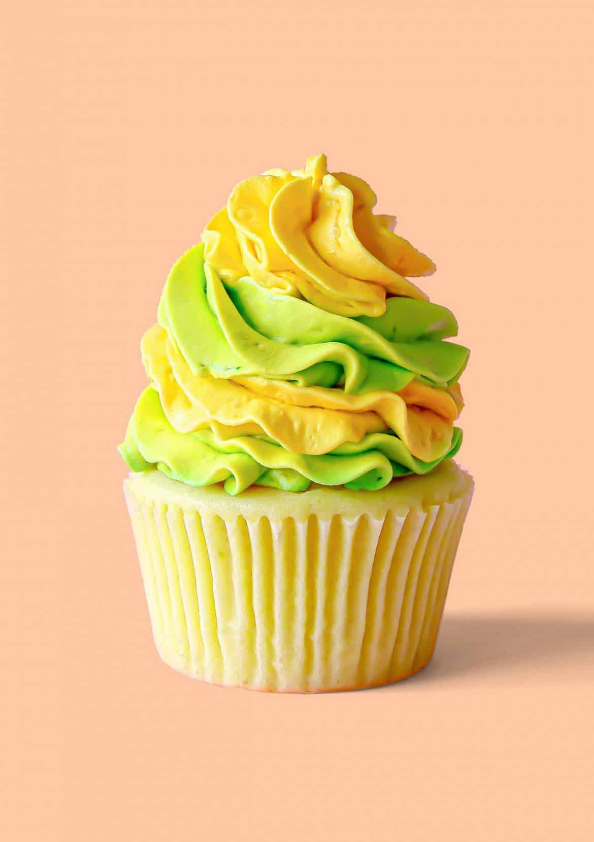 Lemon Lime Cheesecake Cupcakes
