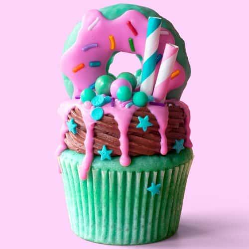 Mollywaffle Freakshake Cupcakes