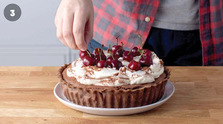 Black Forest Tart Step-By-Step photo 16