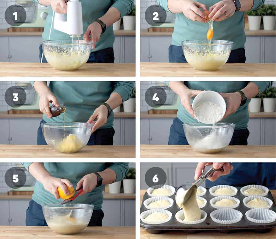 Step By Step to making Orange Cupcakes
