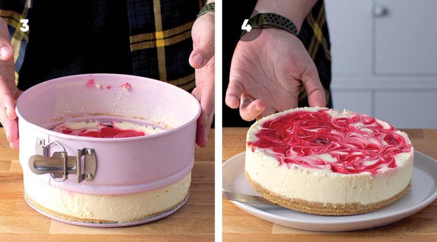 Chilled Eton Mess Cheesecake