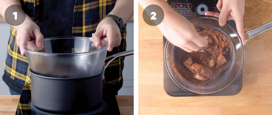 How to make biscuit base for Nanaimo Bars 01