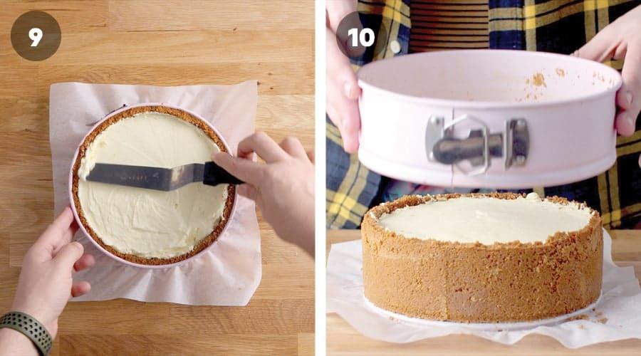 Blueberry Cheesecake Instructional Image 10