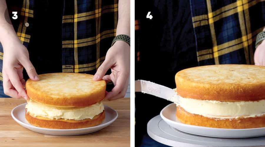 Lemon Sponge Cake Instructional Image 04