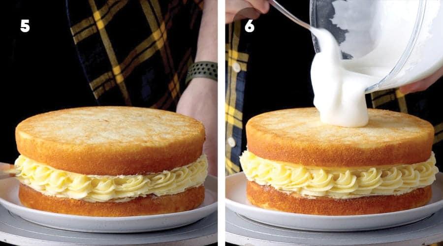 Lemon Sponge Cake Instructional Image 05