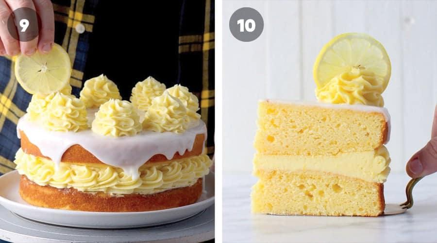 Lemon Sponge Cake Instructional Image 07
