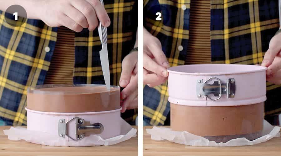 Chocolate Mousse Cake Instructional Image 13