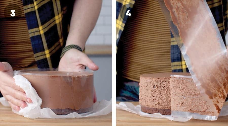 Chocolate Mousse Cake Instructional Image 14