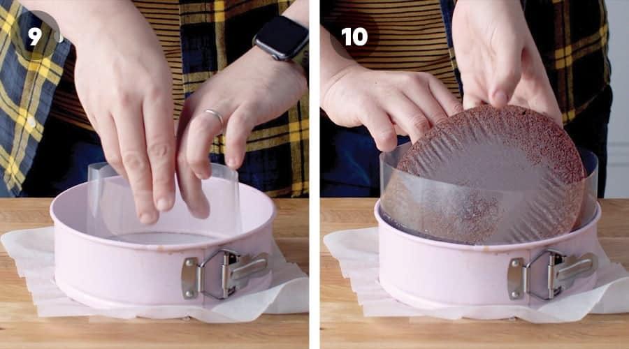 Chocolate Mousse Cake Instructional Image 05
