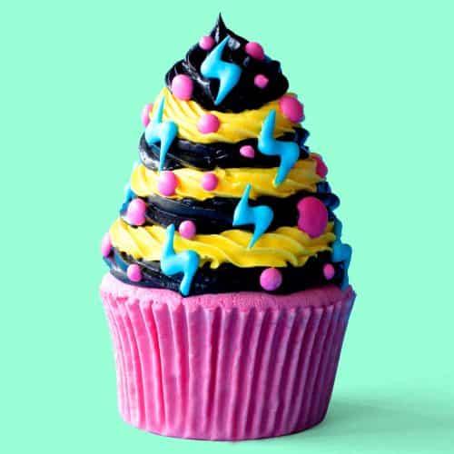 Rock City High School Dance Cupcakes