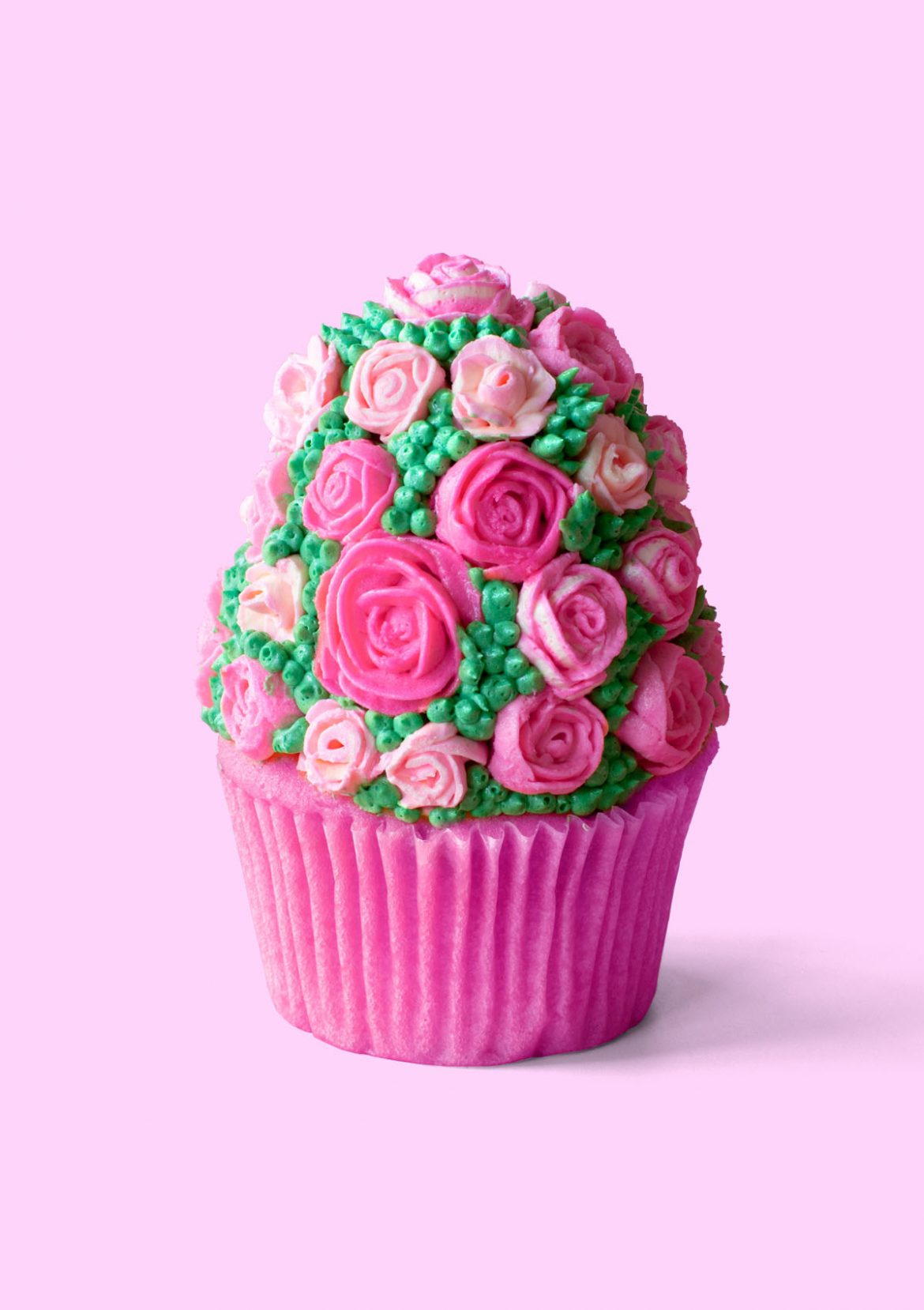 Rose And Lyche Cupcakes