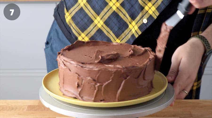 Chocolate Smores Cake Instructional image 07