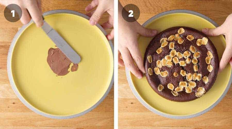 Chocolate Smores Cake Instructional image 04