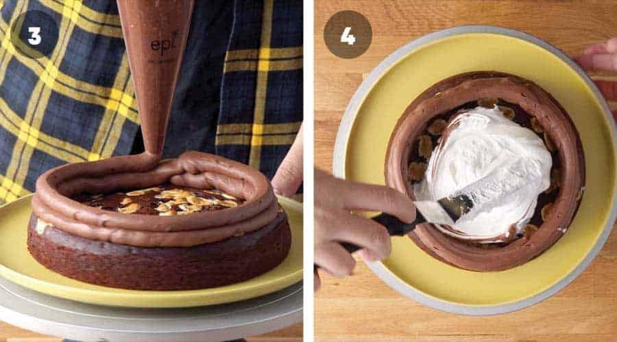 Chocolate Smores Cake Instructional image 05