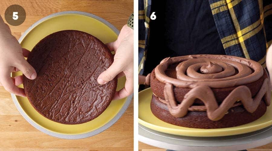 Chocolate Smores Cake Instructional image 06