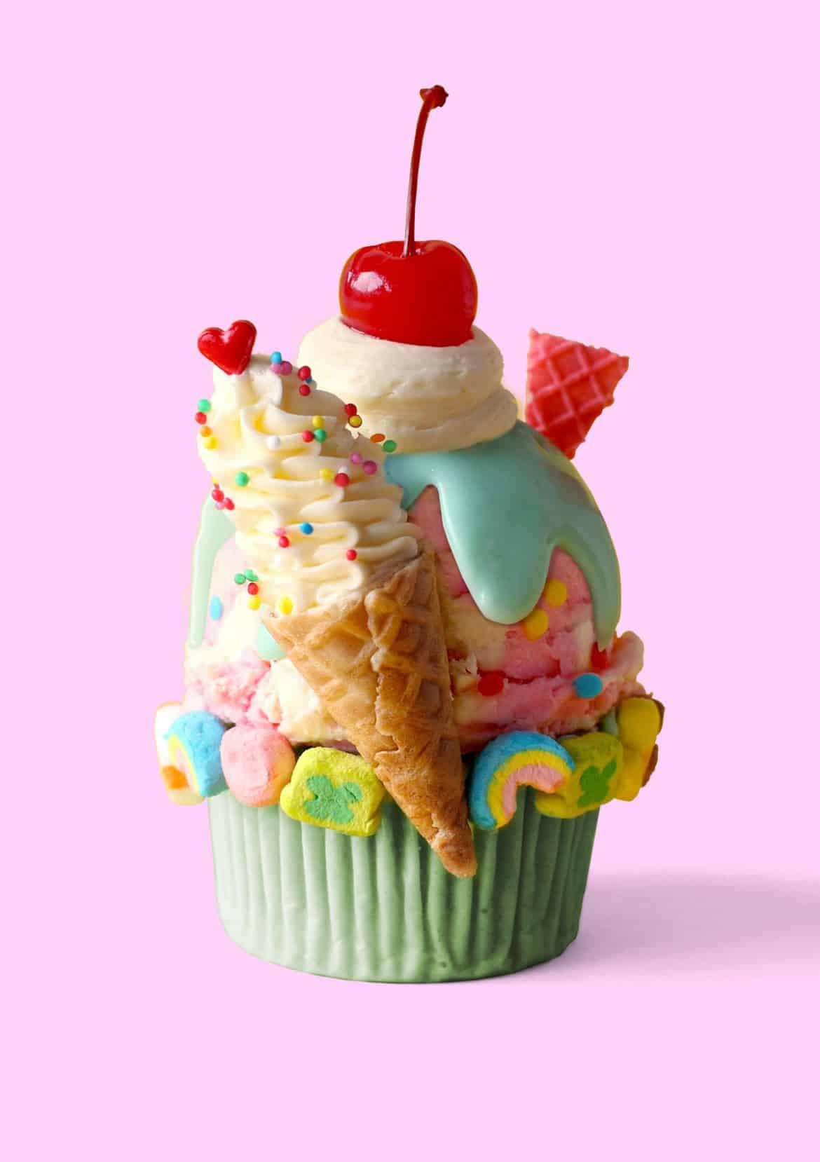 Sundae Funday Cupcakes