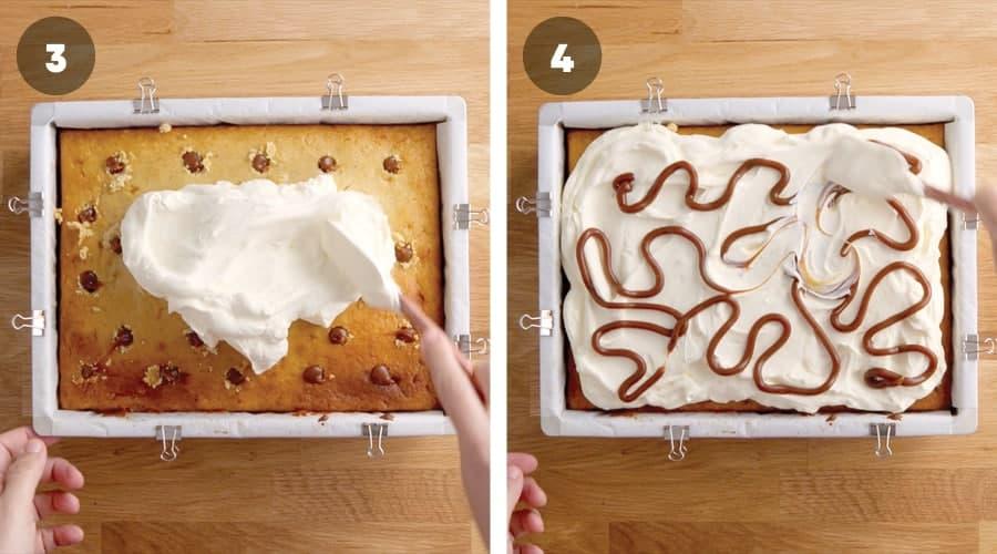 Honey Banoffee Sheet Cake Instructional Image 08