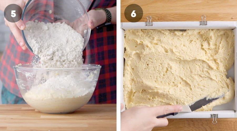 Honey Banoffee Sheet Cake Instructional Image 01