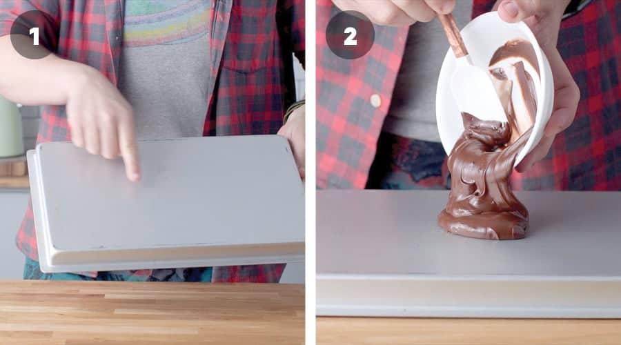 Honey Banoffee Sheet Cake Instructional Image 04
