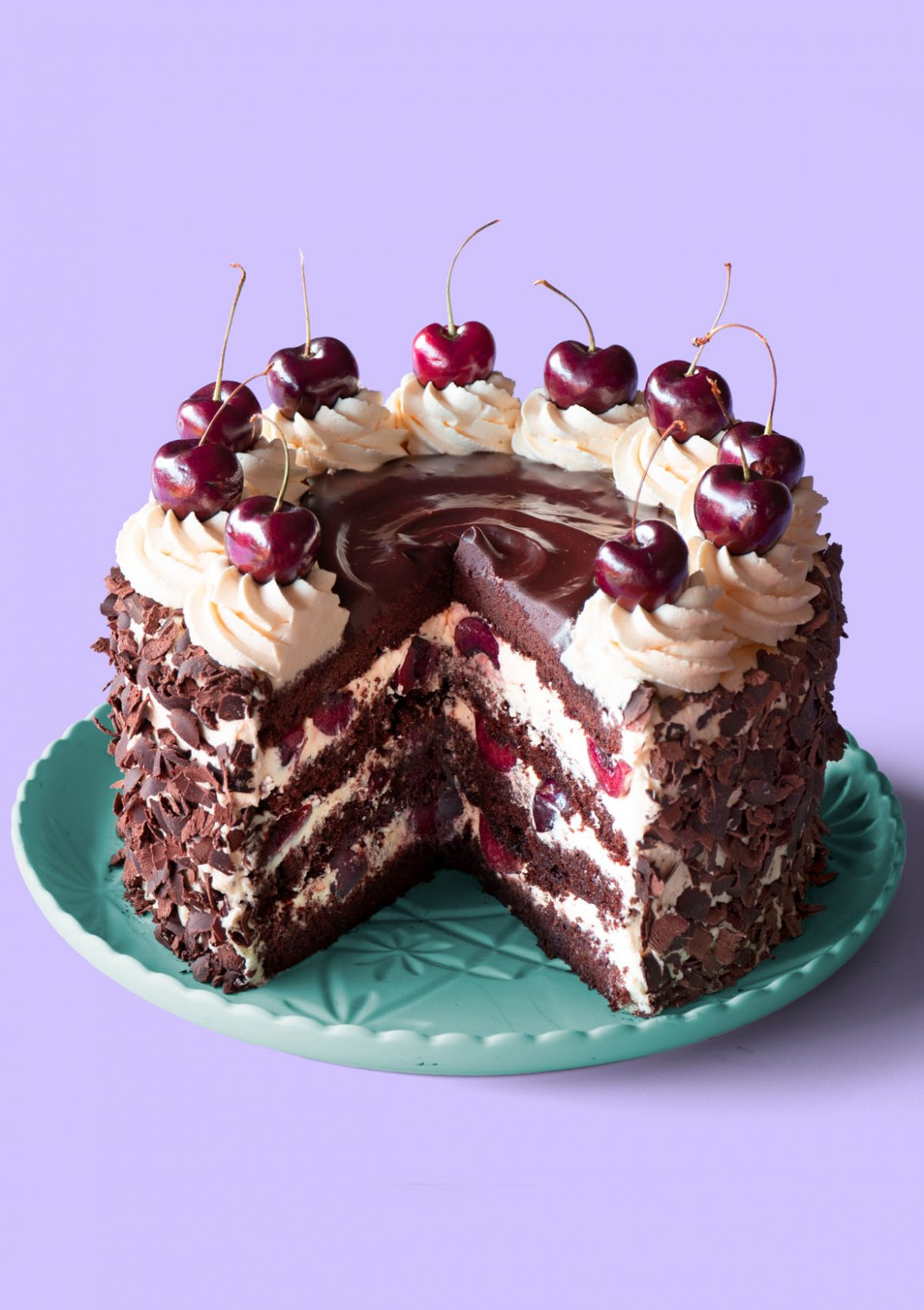 Black Forest Cake Image 01