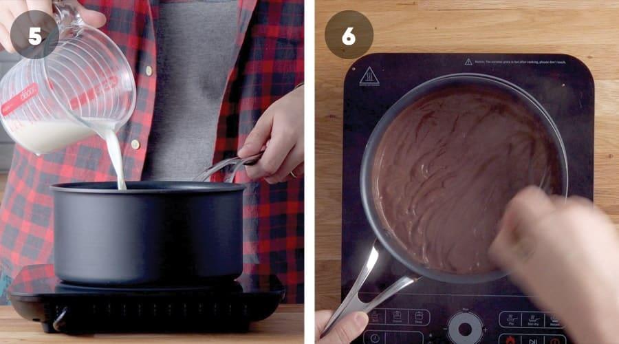 Chocolate Pudding Pie Instructional Image 11