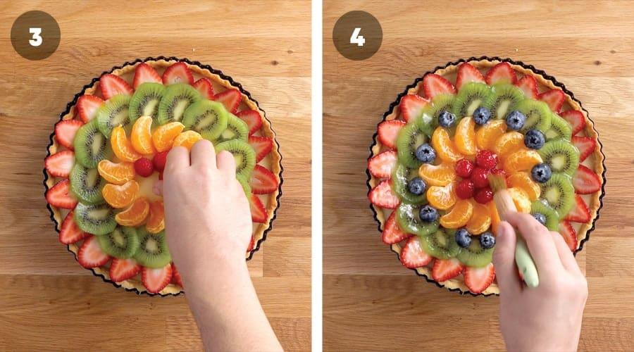 French Fruit Tart Instructional Image 15