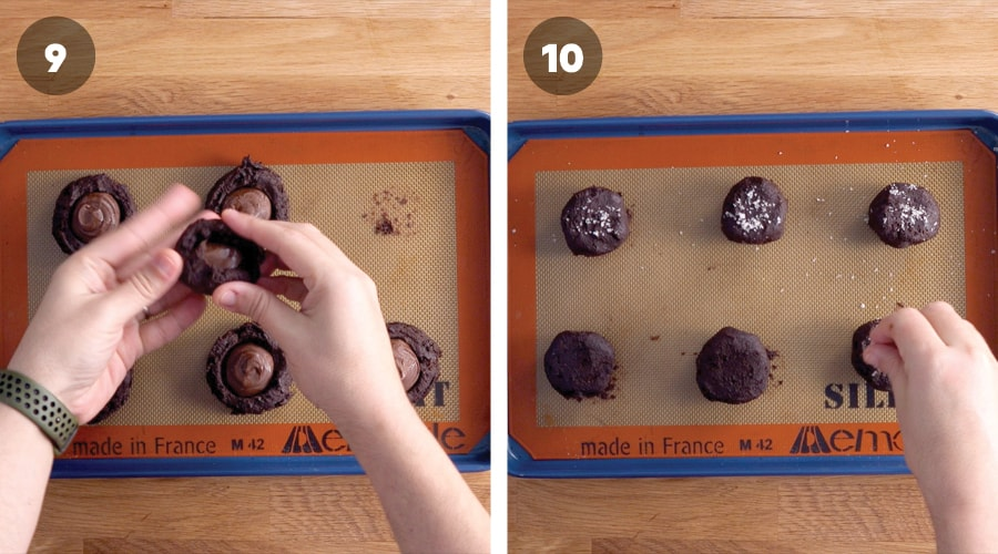 Nutella Stuffed Cookies Instructional Images 05