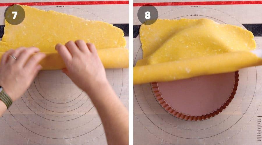 Passionfruit Meringue Tart Instructional Image 10