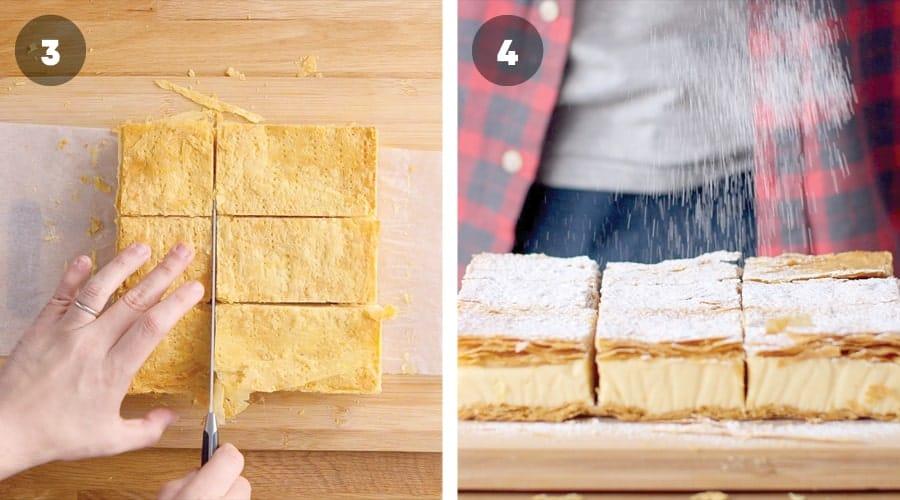 Instructional image for Classic Vanilla Slice 11