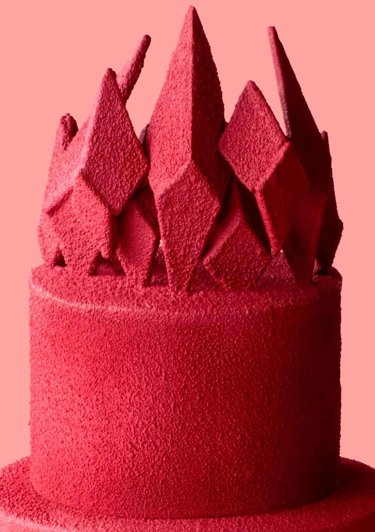 Close up of Killer Queen Cake