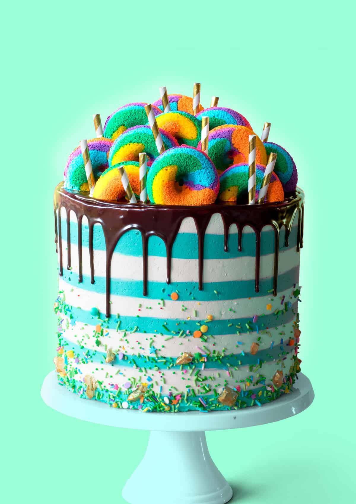 Leprechaun Freakshake Cake
