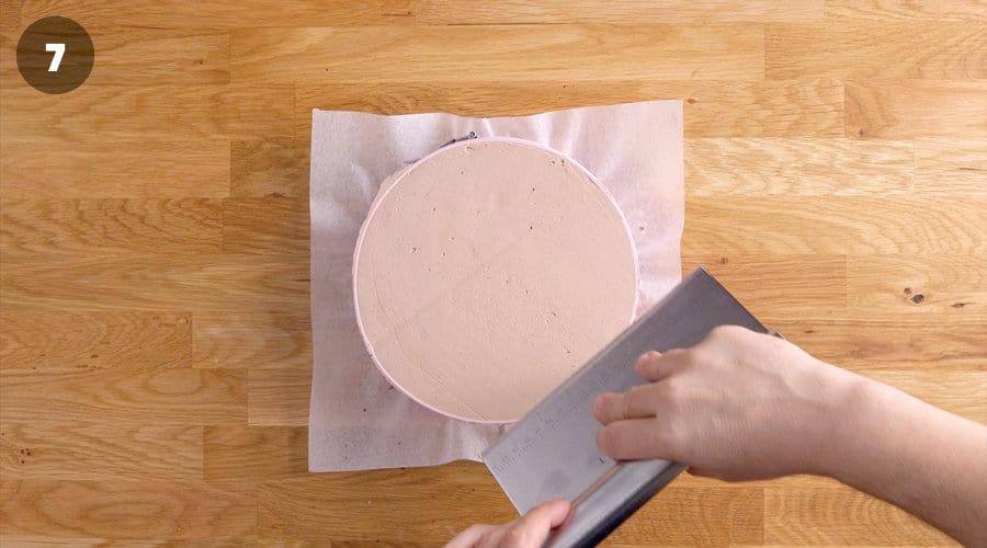 Instructional image for No-Cake Mocha Cake 04