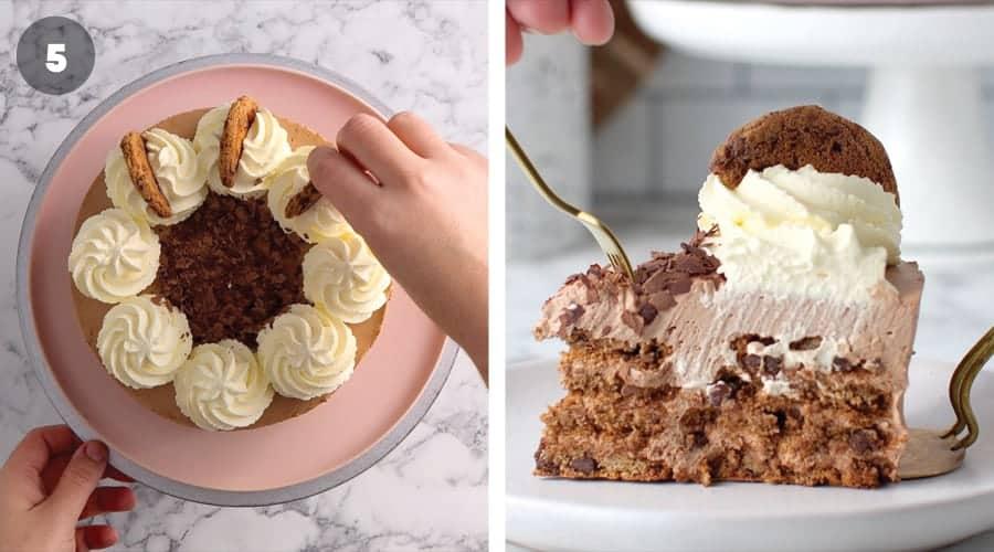 Instructional image for No-Cake Mocha Cake 08