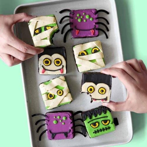 Monster Mash Brownies