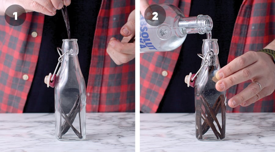 Instructional Image For Pure Vanilla Extract 05