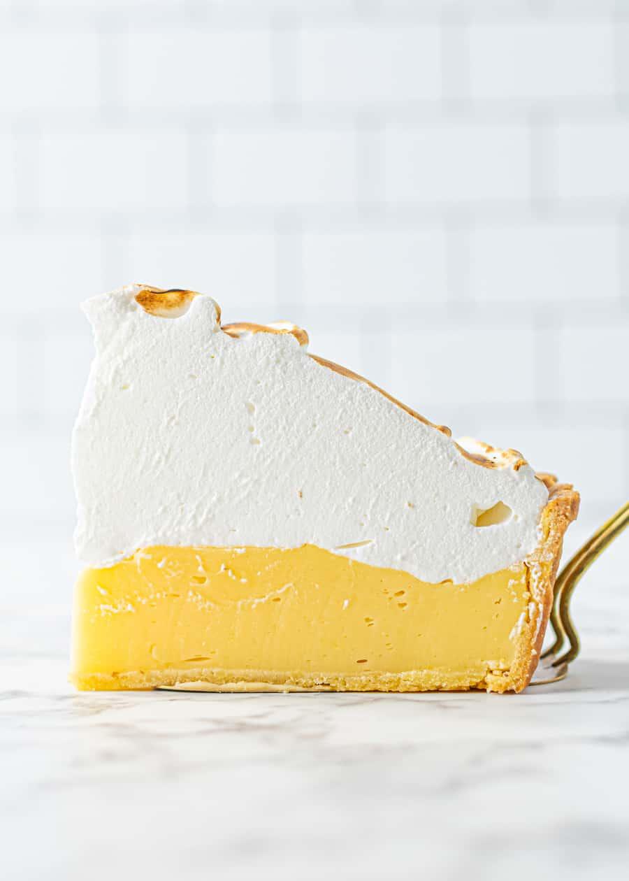 Second slice of Perfect Lemon Meringue Pie