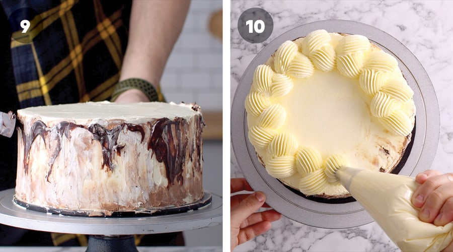 Instructional Image for Vietnamese Ice Coffee Cake 15