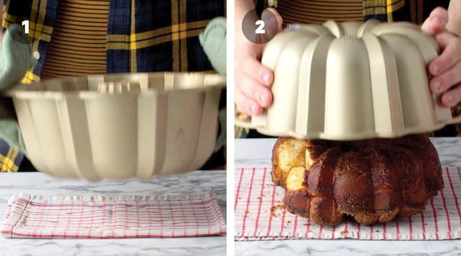 Instructional image for Caramel Monkey Bread 11