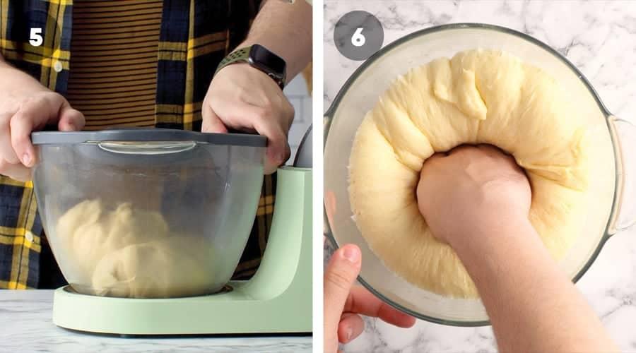 Instructional image for Caramel Monkey Bread 03