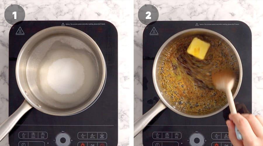Instructional image for Salted Caramel Sauce 01
